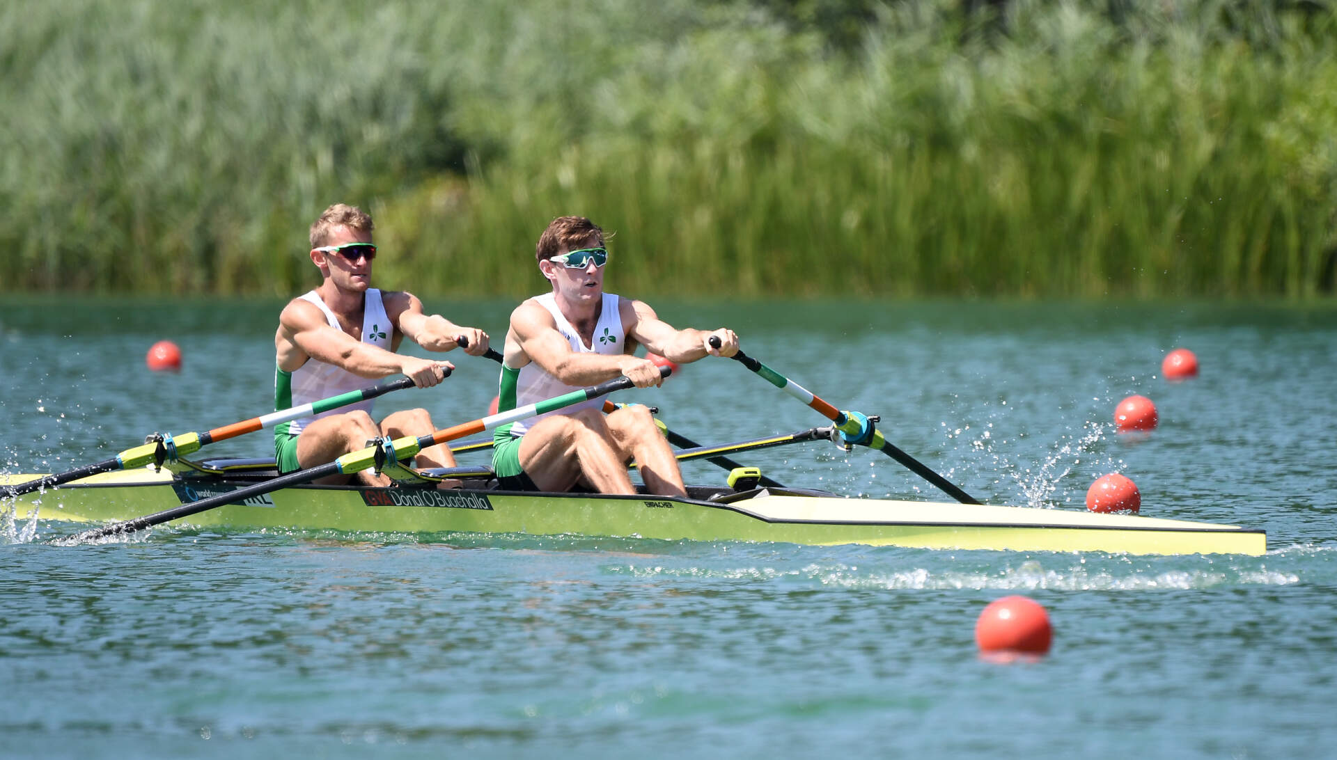 World Rowing Cup III Luzern LM2x Gold IRL