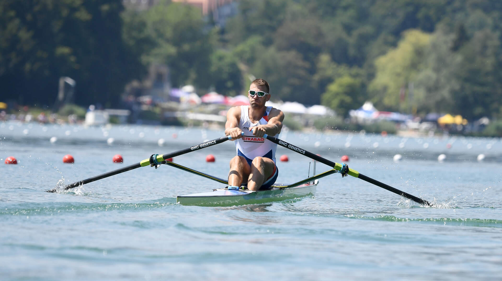 World Rowing Cup III Luzern M1x Bronze CZE