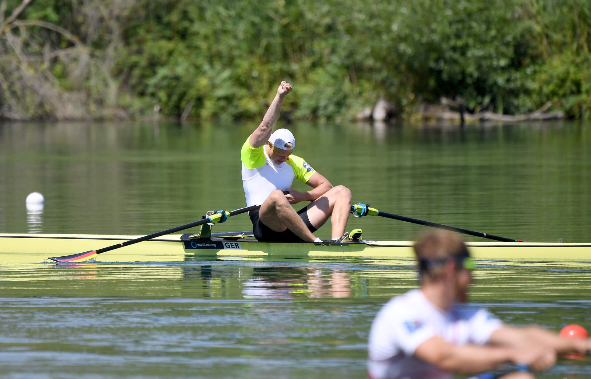 World Rowing Cup III Luzern M1x Silver GER
