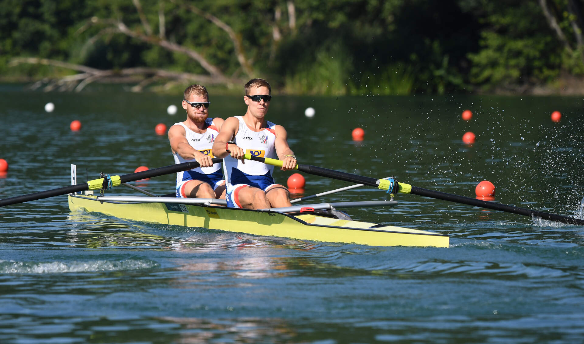 World Rowing Cup III Luzern M2 Bronze CZE
