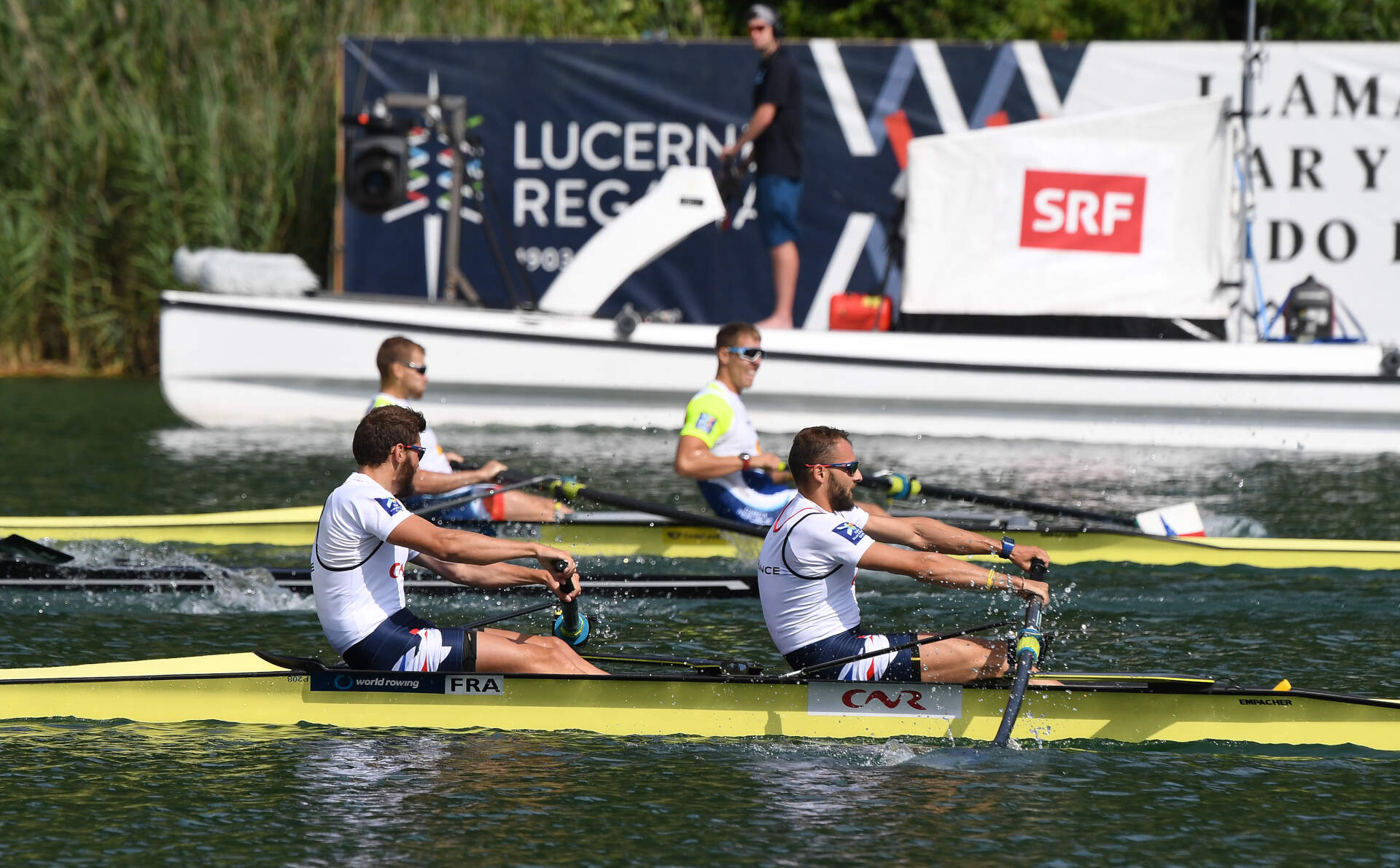 World Rowing Cup III Luzern M2 Silver FRA