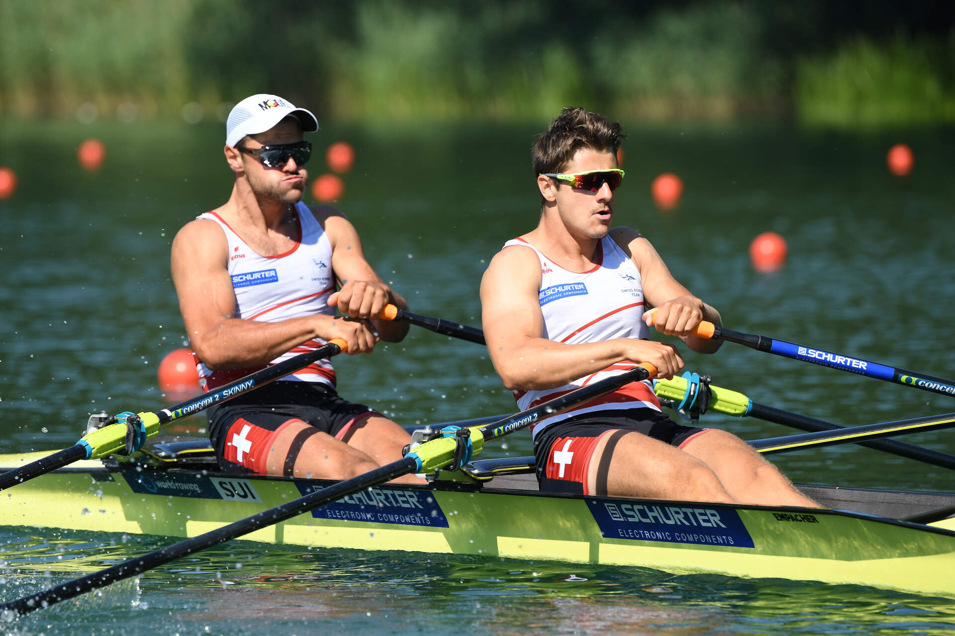 World Rowing Cup III Luzern M2x Bronze SUI