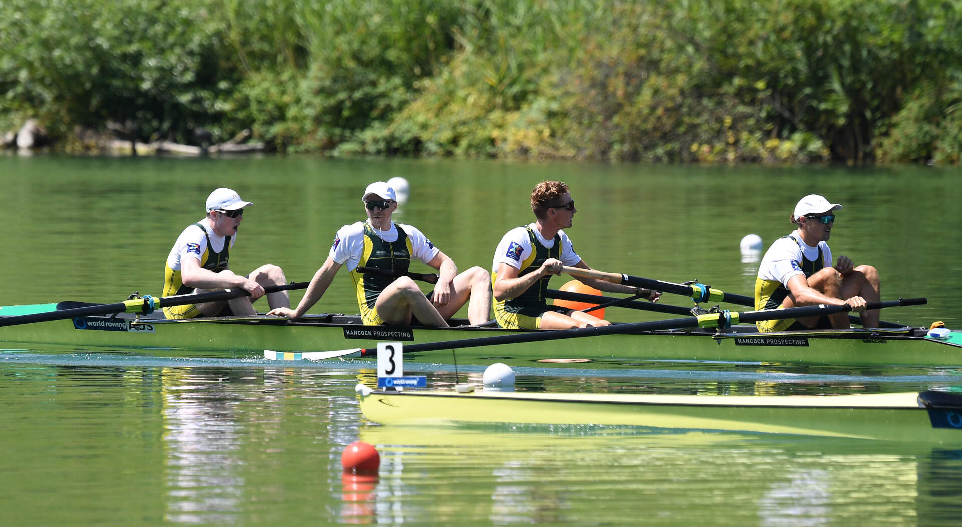 World Rowing Cup III Luzern M4 Gold AUS