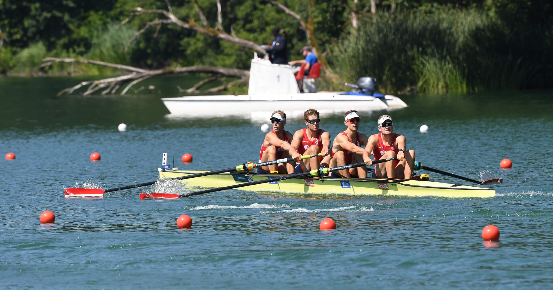 World Rowing Cup III Luzern M4 Silver NED