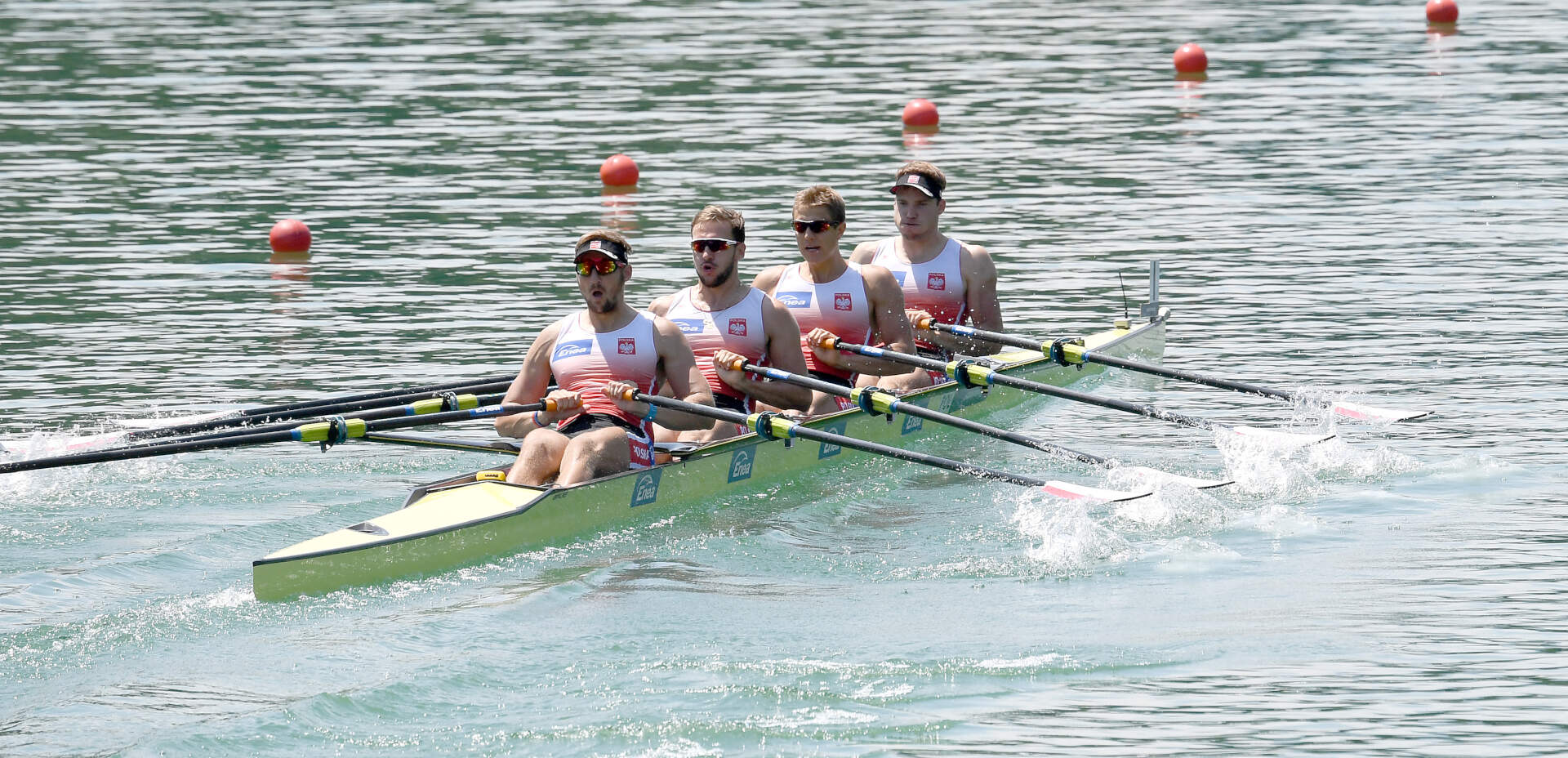World Rowing Cup III Luzern M4x Bronze POL