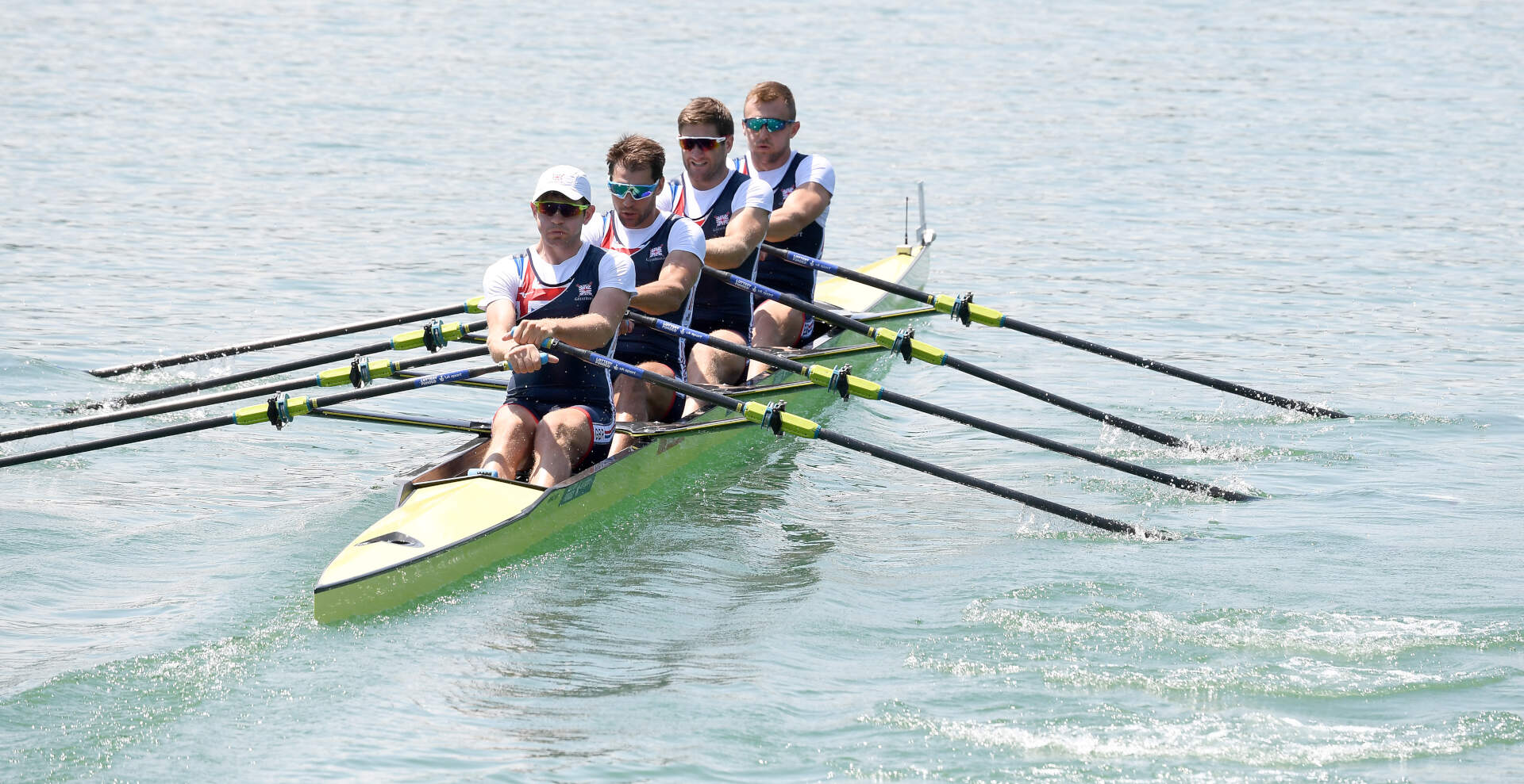 World Rowing Cup III Luzern M4x Gold GBR