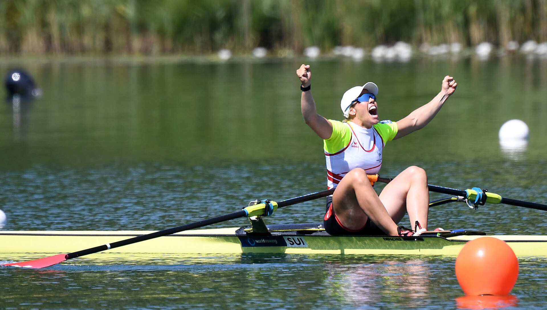 World Rowing Cup III Luzern W1x Gold SUI