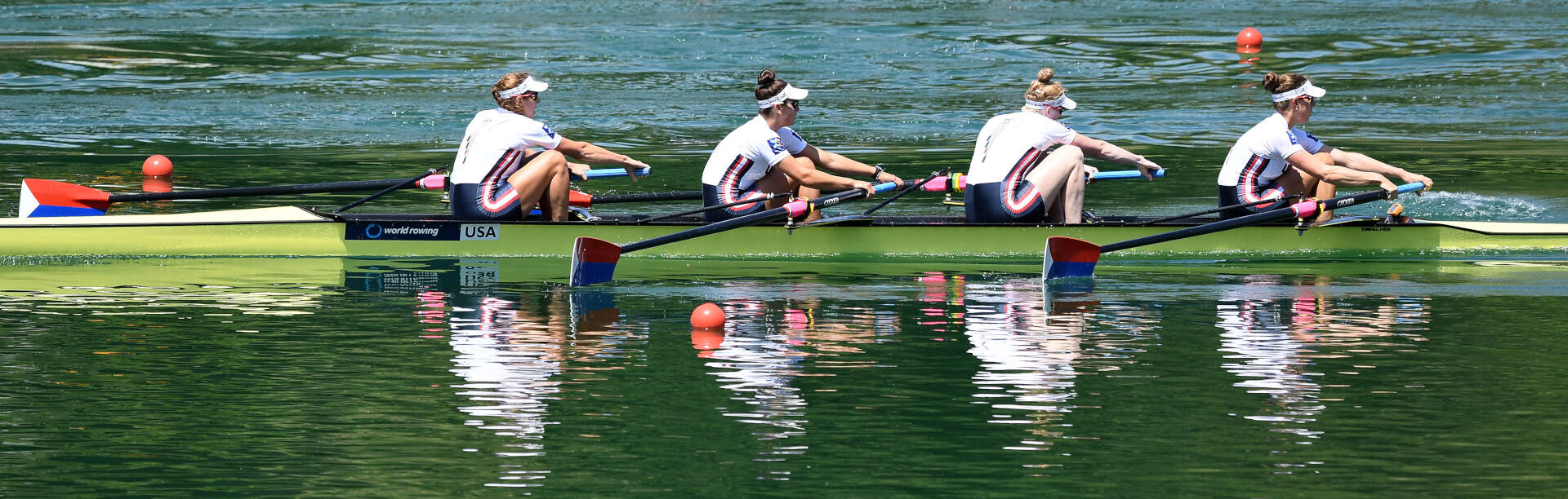 World Rowing Cup III Luzern W4 Bronze USA