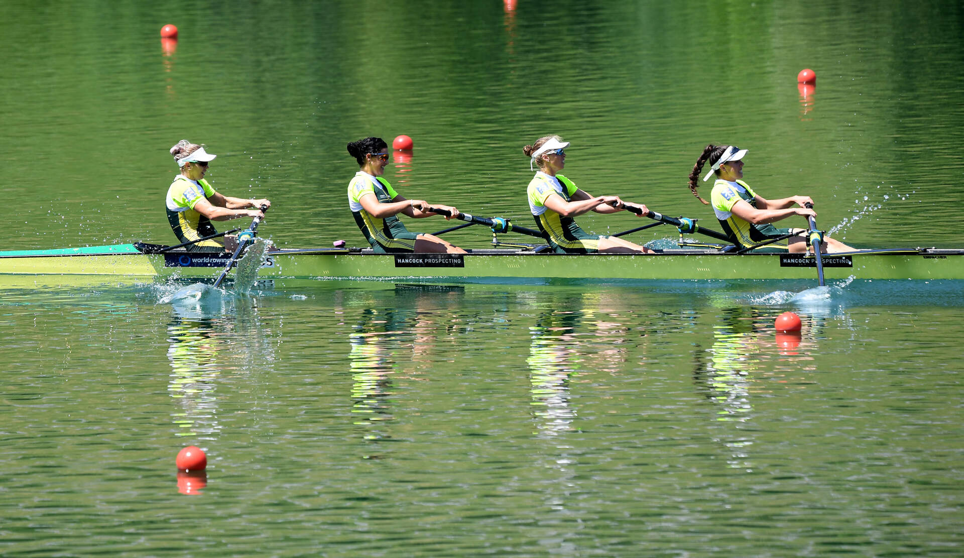 World Rowing Cup III Luzern W4 Gold AUS
