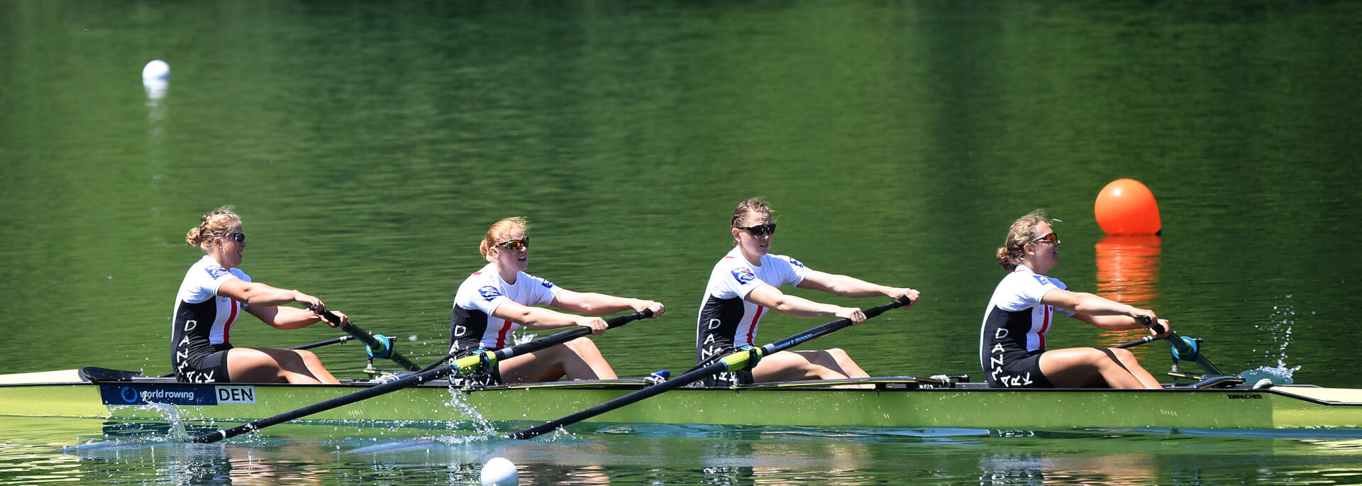 World Rowing Cup III Luzern W4 Silver DEN