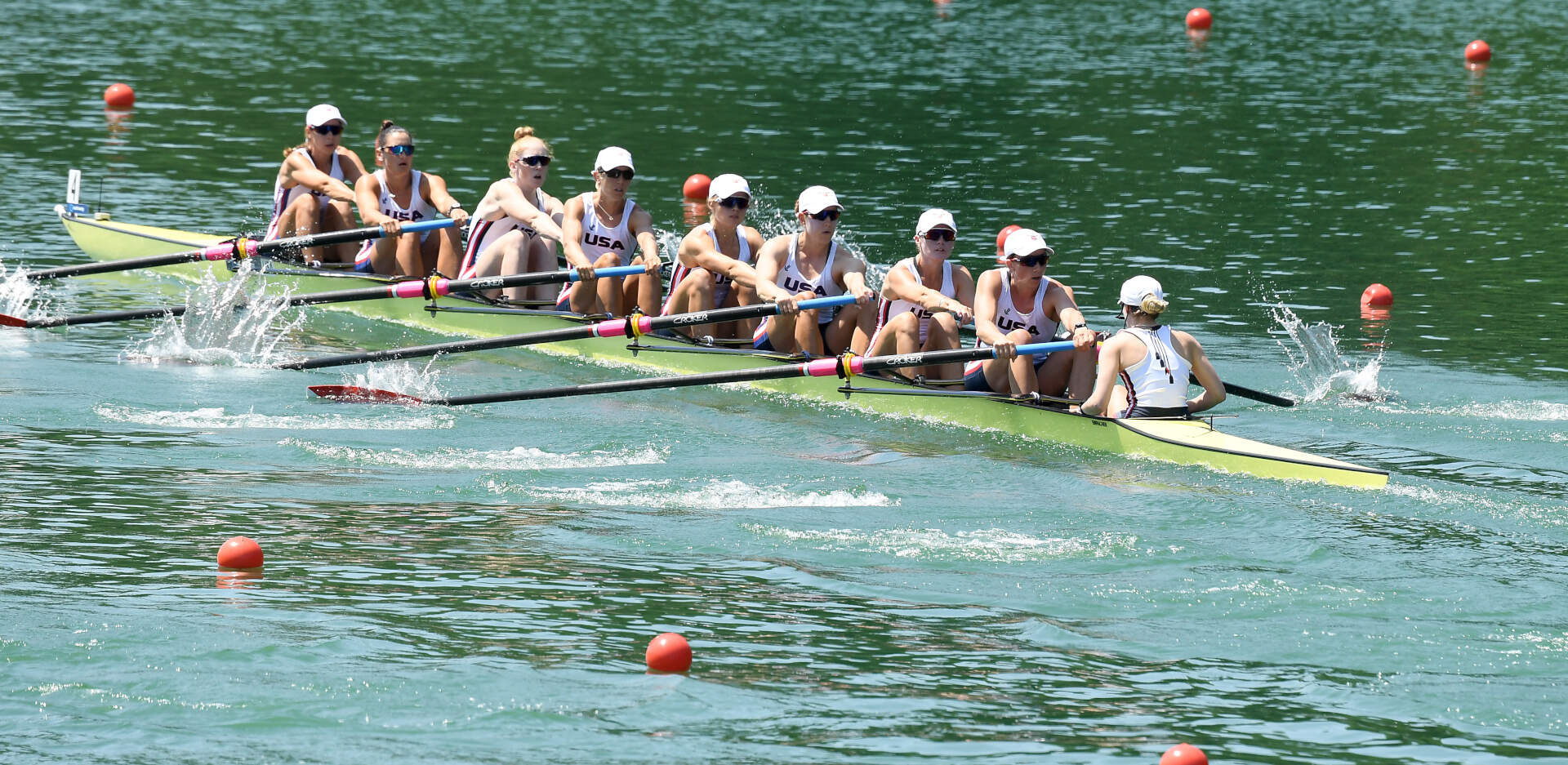 World Rowing Cup III Luzern W8 Bronze USA