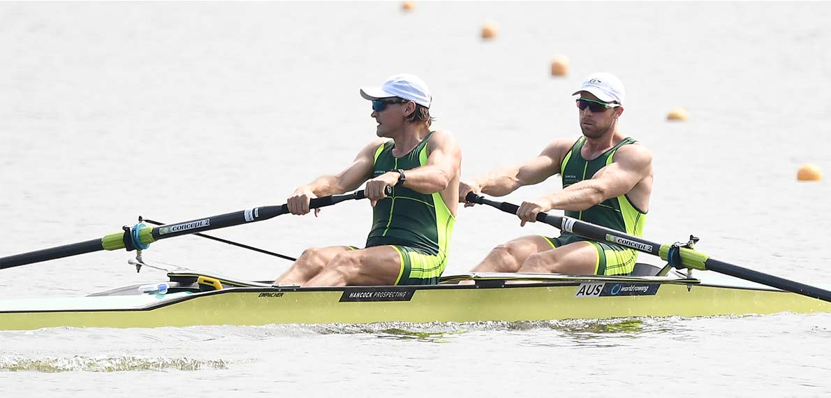 World Rowing Cup II Poznan M2- Gold AUS