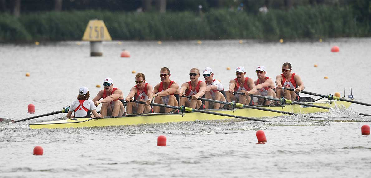 World Rowing Cup II Poznan M8+ Bronze CAN