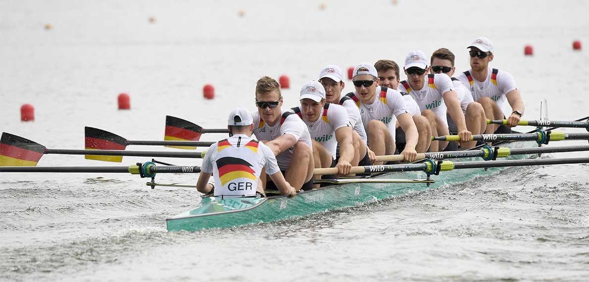 World Rowing Cup II Poznan M8+ Gold GER