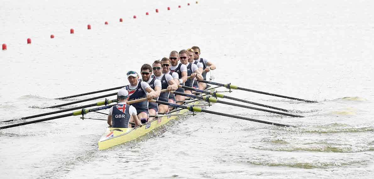 World Rowing Cup II Poznan M8+ Silver GBR