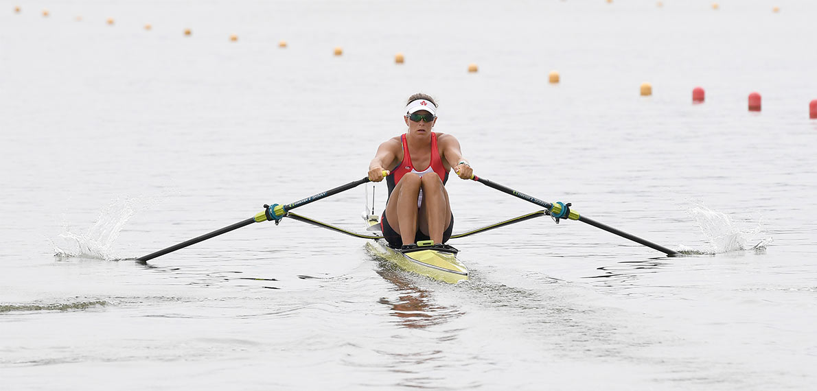 World Rowing Cup II Poznan W1x Bronze CAN