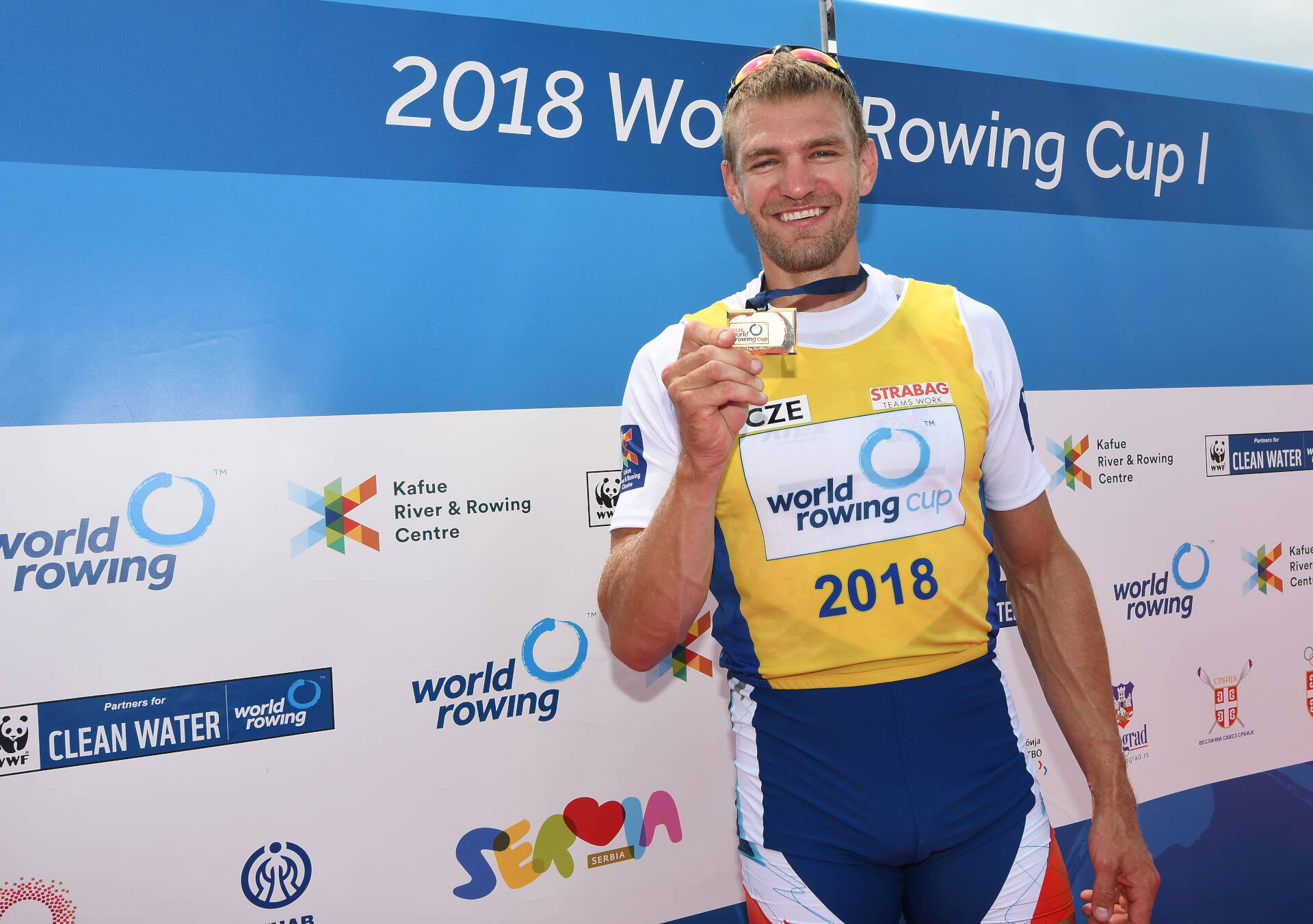 World Rowing Cup I M1x Gold CZE