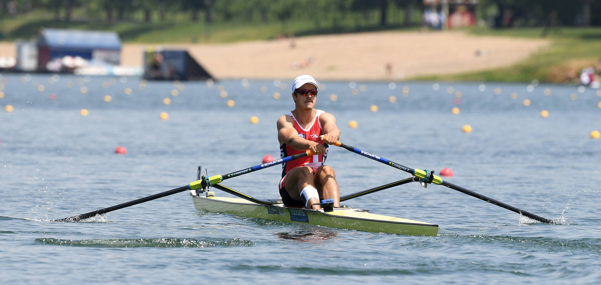 World Rowing Cup I M1x Silver SUI