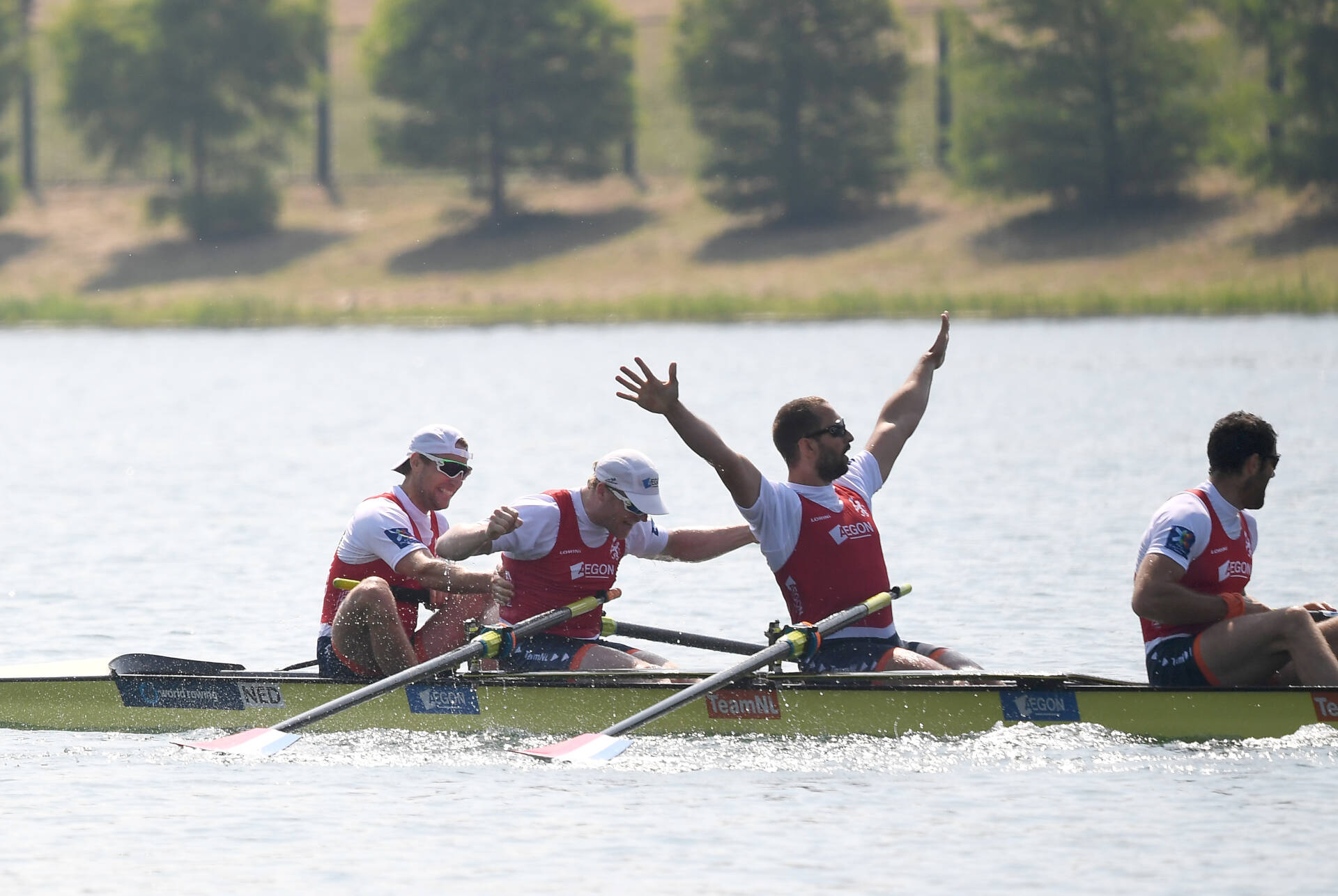World Rowing Cup I M4  Gold NED
