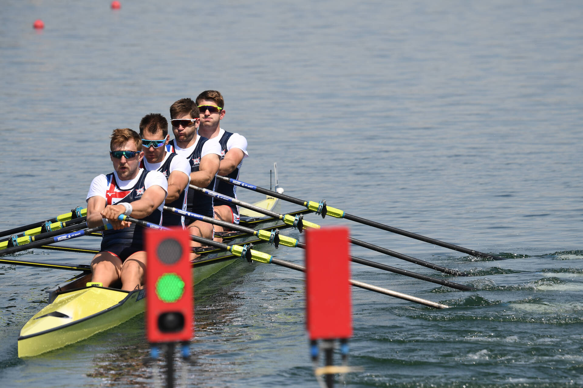 World Rowing Cup I M4x Gold GBR