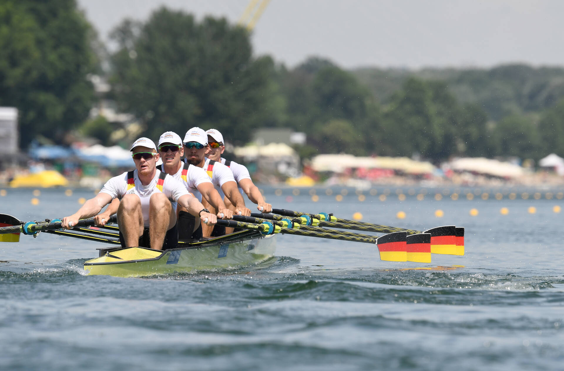 World Rowing Cup I M4x Silver GER