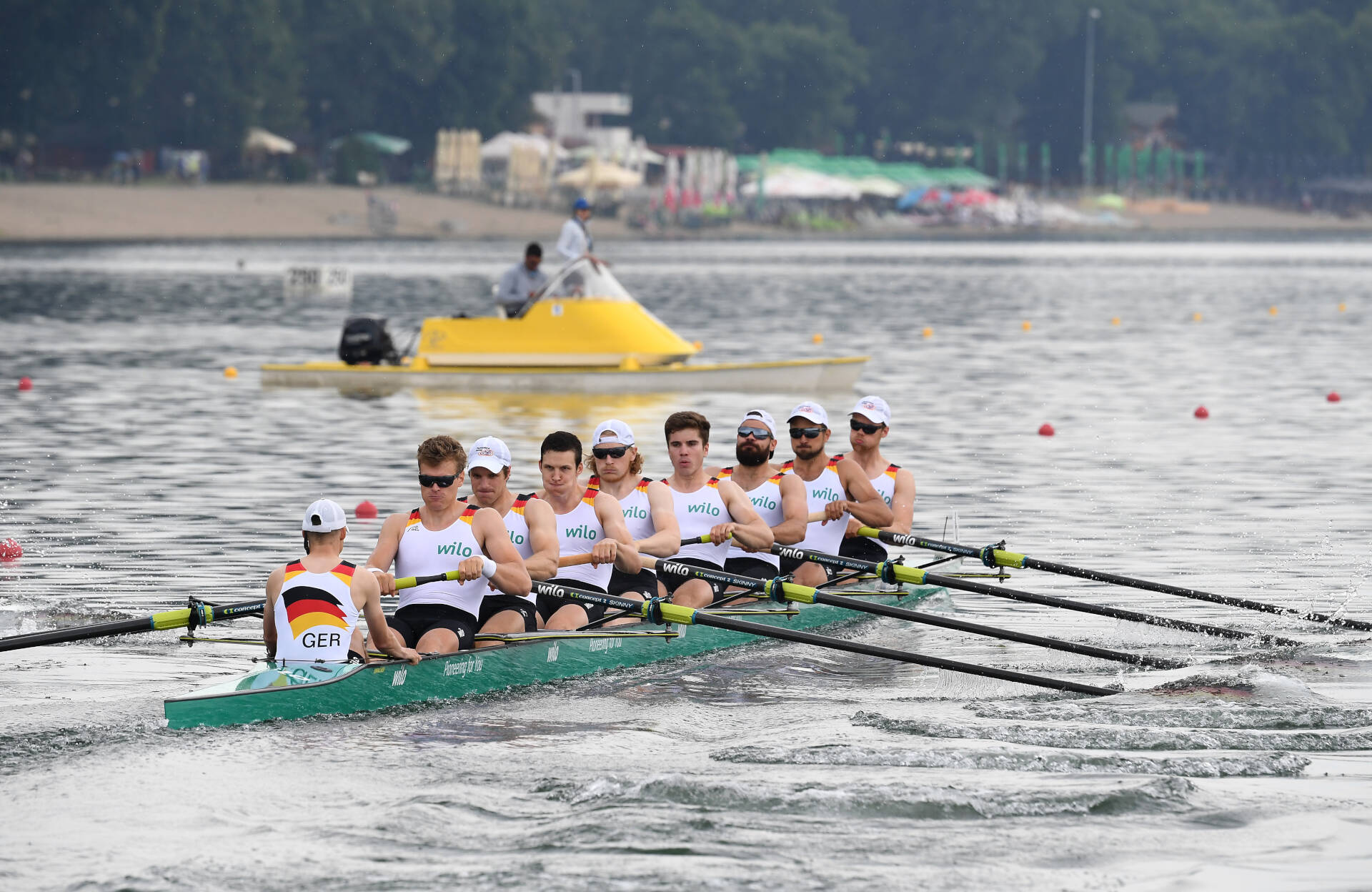 World Rowing Cup I M8 Gold GER