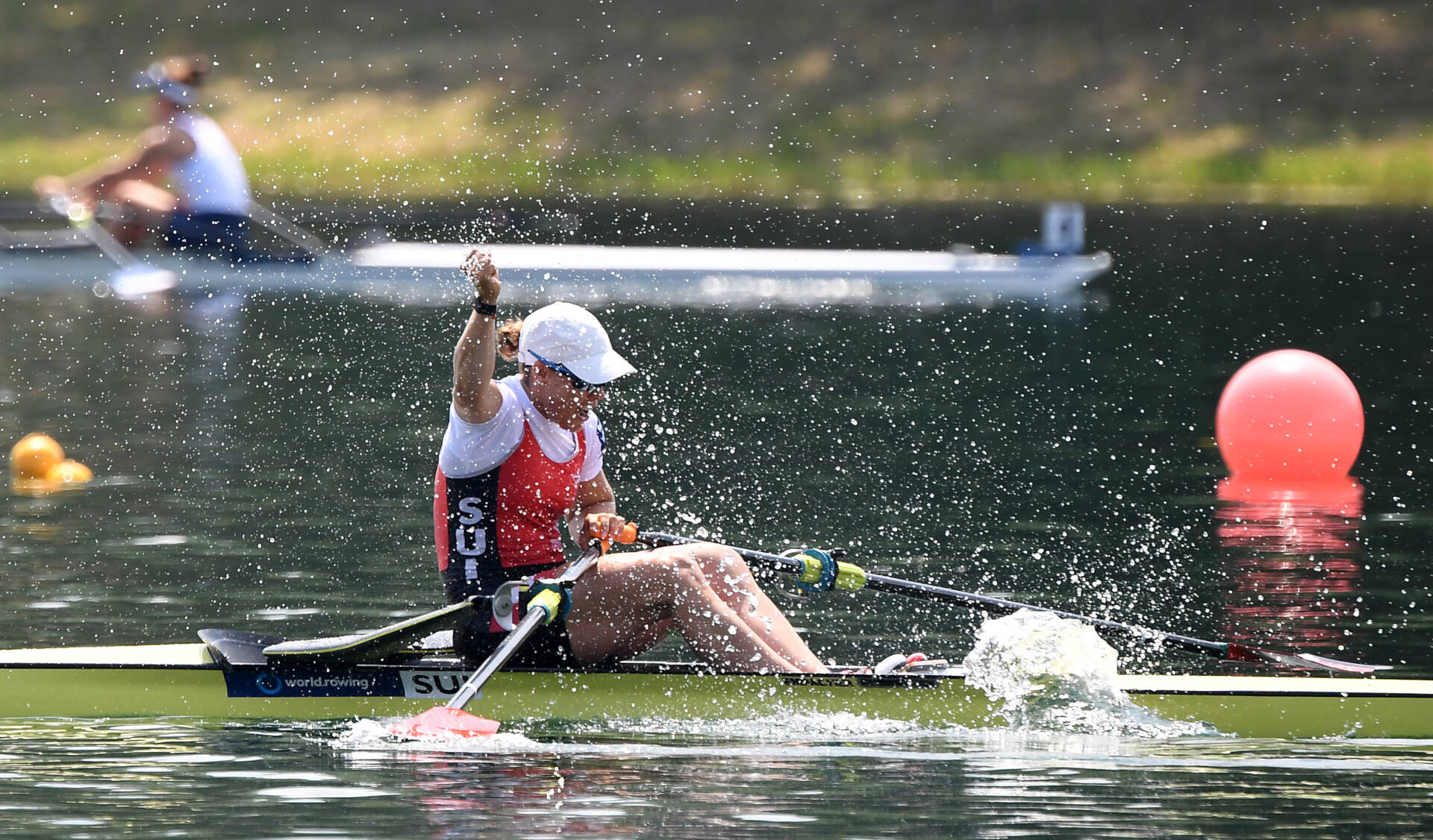 World Rowing Cup I W1x Gold SUI