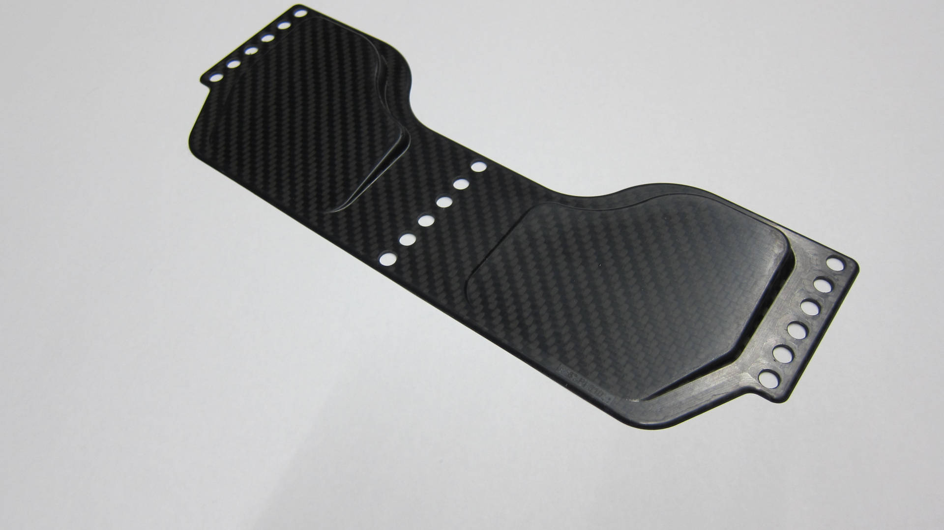 Shoeplate carbon with 4° or 6°