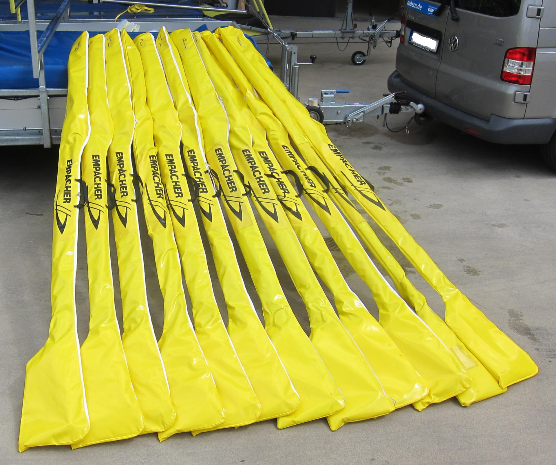Sculling oar bag